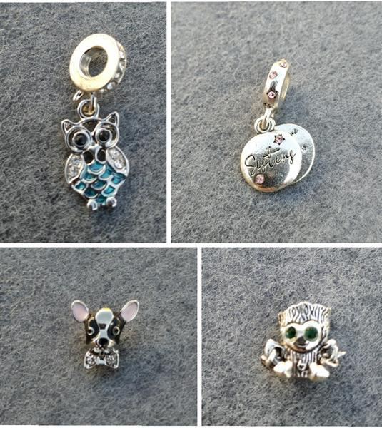 Grote foto pandorastyle bedels 2 per stuk sieraden tassen en uiterlijk bedels en hangers