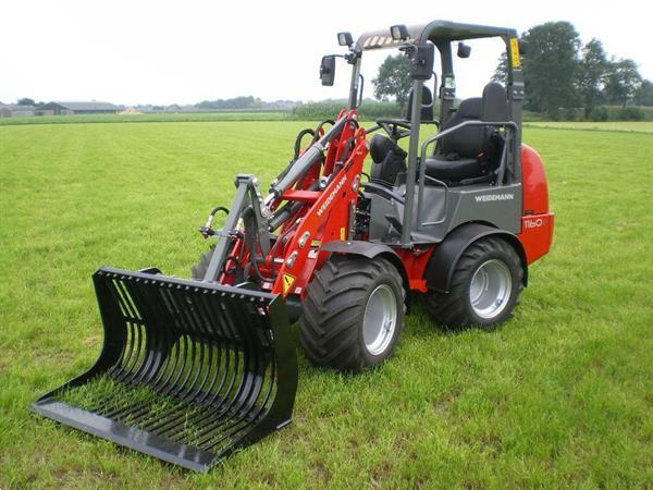 Grote foto weidemann 1160 minishovel loader agrarisch shovels