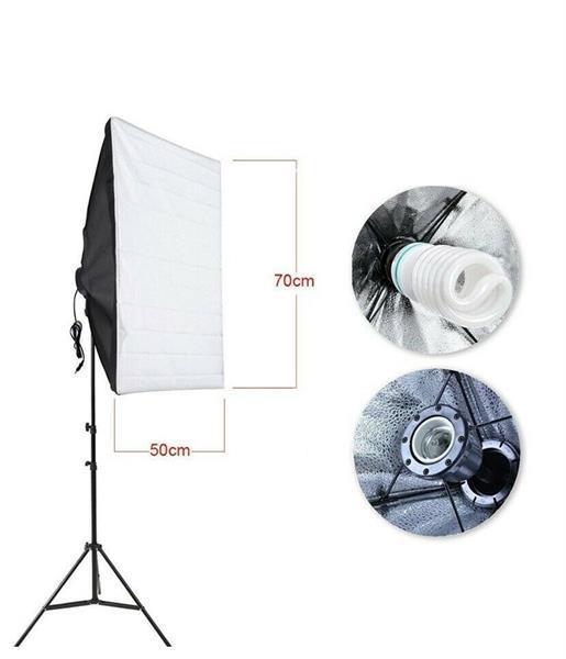Grote foto fotostudio set met achtergrondsysteem 4 achtergronddoeken audio tv en foto algemeen