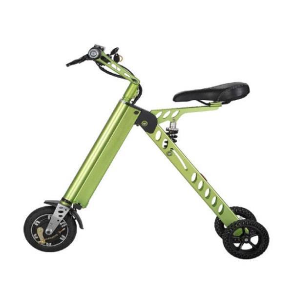 Grote foto ultralichte elektrische vouwbare smart e scooter 250w 8 in fietsen en brommers onderdelen