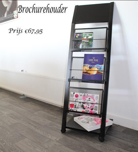 Grote foto folderrek en brochure houder zakelijke goederen overige