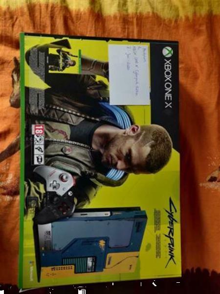 Grote foto xbox one x cyberpunk 2077 editie spelcomputers games xbox one