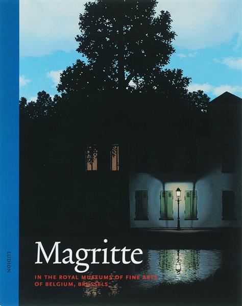 Grote foto magritte in the royal museum of fine arts of belgium brusse boeken wetenschap