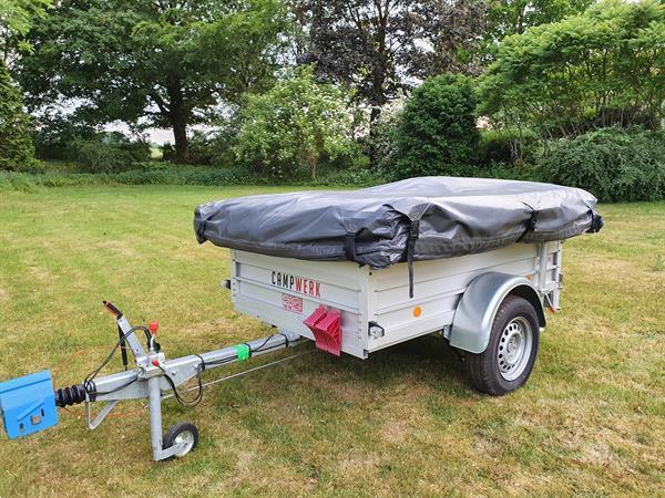 Grote foto nieuwe campwerk economy met luifel en keuken caravans en kamperen vouwwagens