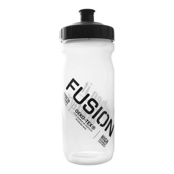 Grote foto fusion bottle 600ml transparant bottle sport en fitness loopsport en atletiek