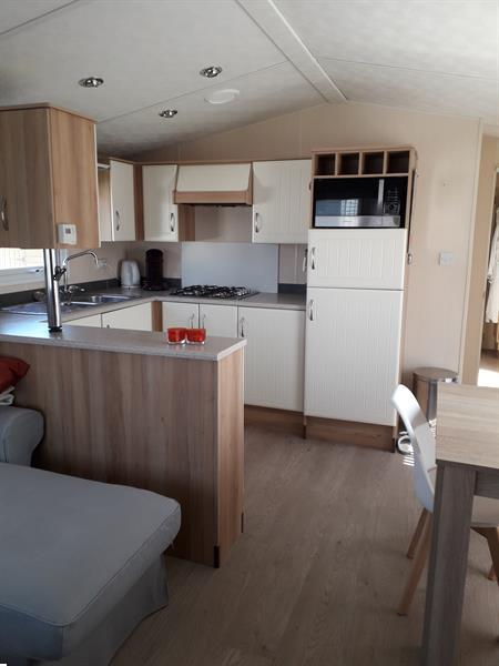Grote foto prachtige luxe stacaravan als nieuw caravans en kamperen stacaravans
