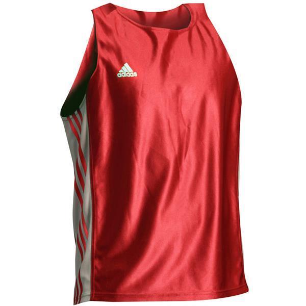 Grote foto amateur boks hemd rood wit kleding heren sportkleding