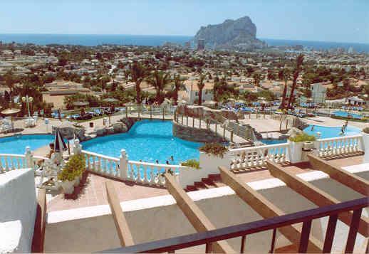 Grote foto last minute 50 vakantie resort in calpe vakantie spanje