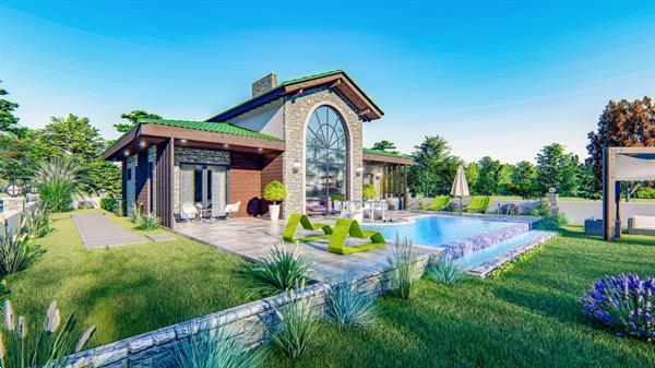 Grote foto bungalow loft atos huizen en kamers nieuw buiten europa