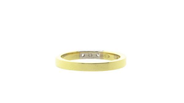 Grote foto gouden memoire ring met diamant 14 krt nieuw 671.25 sieraden tassen en uiterlijk ringen voor haar