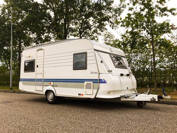 Grote foto caravan hobby de luxe easy 460 caravans en kamperen caravans