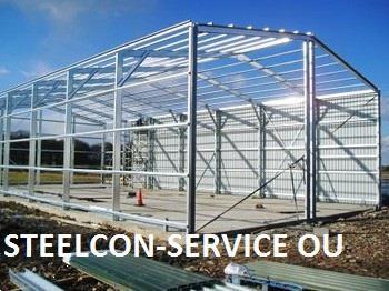 Grote foto frame steel halls agrarisch beregeningapparatuur