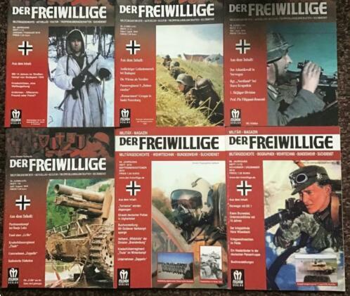 Grote foto der freiwillige jaargang 2010 boeken oorlog en militair
