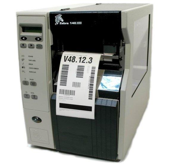 Grote foto zebra 140xi iii plus thermisch transfer label printer usb computers en software printers