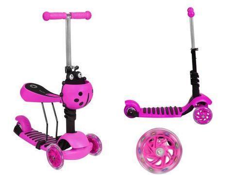 Grote foto driewiel scooter kinderen en baby voertuigen en loopfietsen