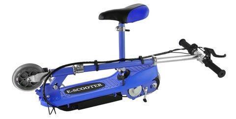 Grote foto elektrische scooter 12km p uur 250w met zitting fietsen en brommers steps