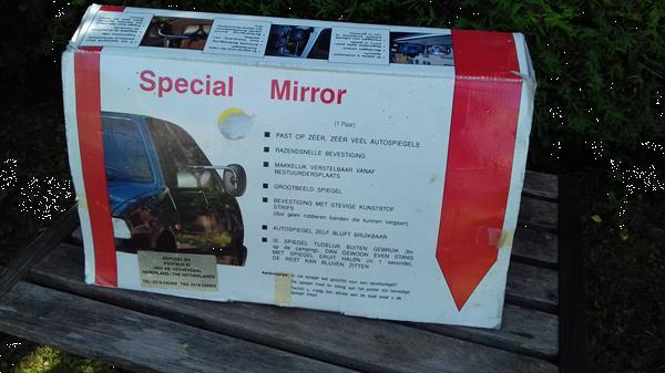 Grote foto caravan spiegel special mirror de luxe caravans en kamperen kampeertoebehoren