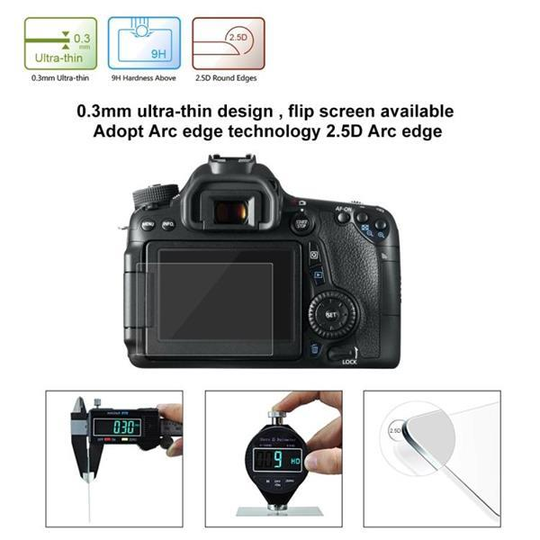 Grote foto puluz 2.5d 9h tempered glass film for canon 650d compatible audio tv en foto algemeen