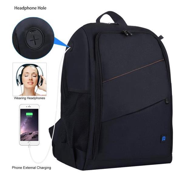 Grote foto puluz outdoor portable waterproof scratch proof dual shoulde audio tv en foto onderdelen en accessoires