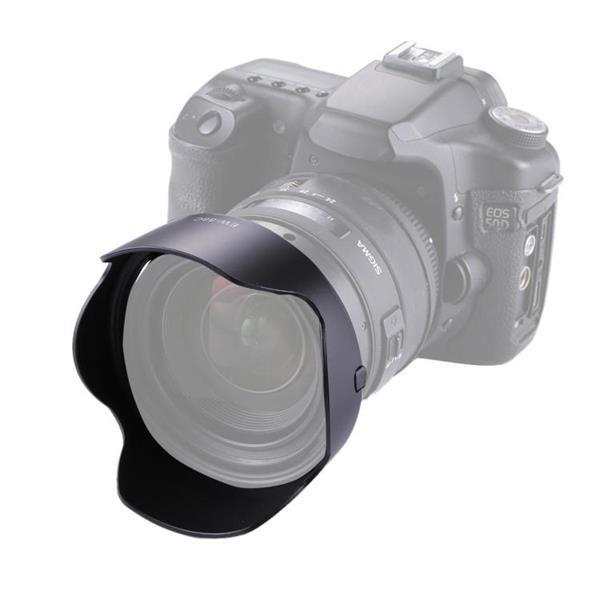 Grote foto ew 88c lens hood shade for canon camera ef 24 70 2.8l ii usm audio tv en foto algemeen