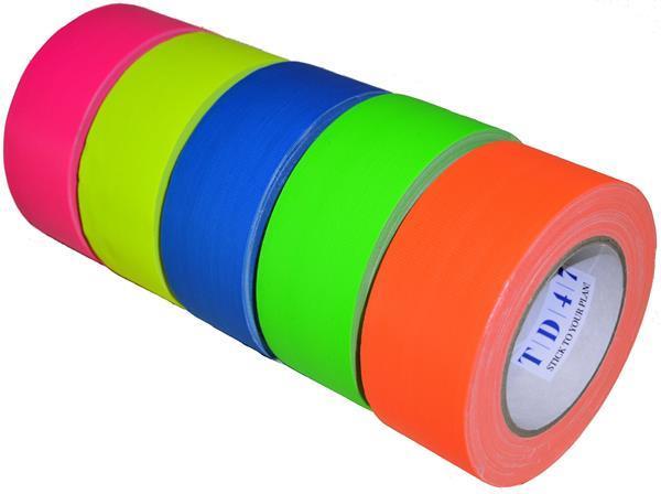 Grote foto td47 gaffa tape fluor deal doe het zelf en verbouw gereedschappen en machines