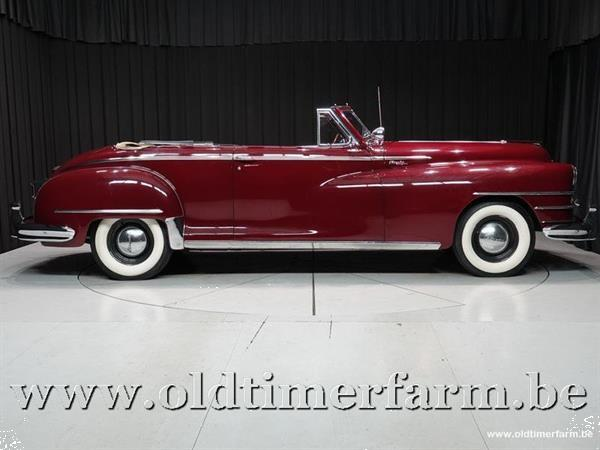 Grote foto chrysler new yorker convertible 49 auto chrysler