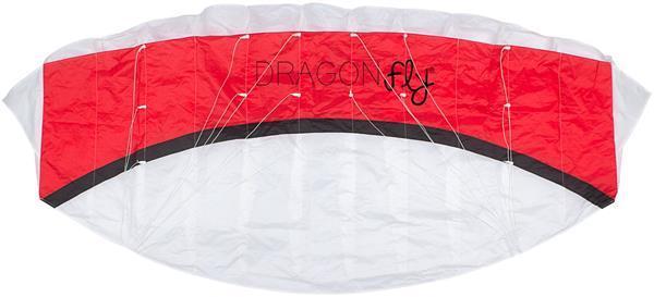 Grote foto dragon fly kona 160 rood wit 160 x 65 cm sport en fitness overige sport en fitness