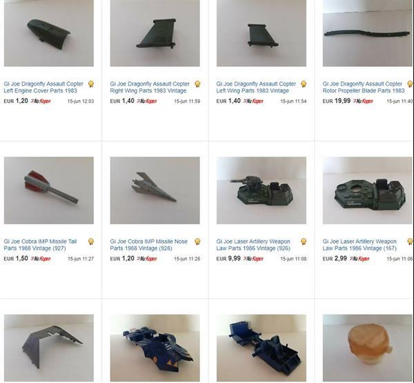 Grote foto gi joe gijoe star wars vintage toy parts kinderen en baby actiefiguren