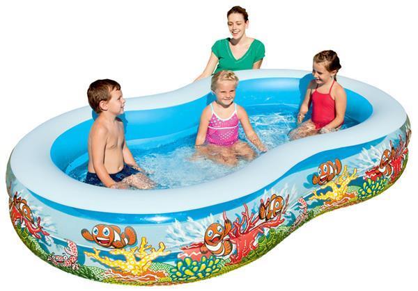 Grote foto groot kinderzwembad bestway 2 rings alleen deze week 10 ex kinderen en baby zwembaden en zandbakken