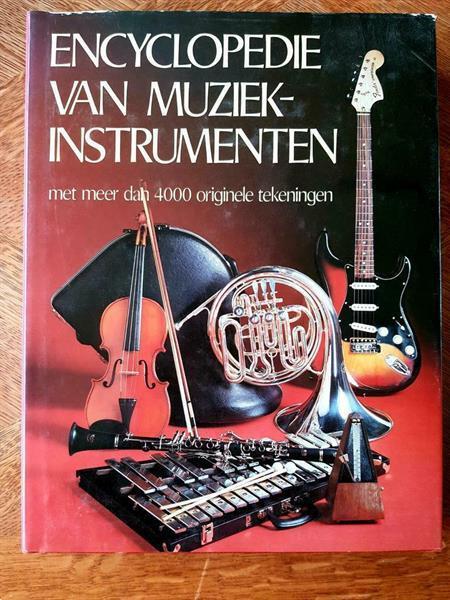 Grote foto encyclopedie van muziekinstrumenten boeken muziek