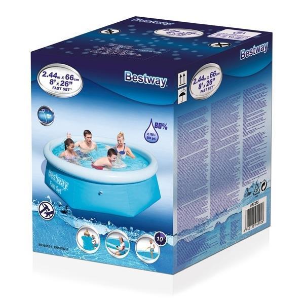 Grote foto bestway fast pool alleen deze week 10 extra korting kinderen en baby zwembaden en zandbakken