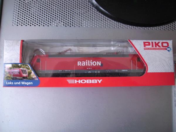 Grote foto 1 mooie piko ho locomotief van railion in doos hobby en vrije tijd modelbouw overige