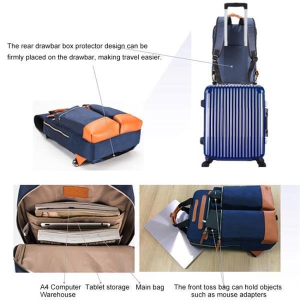 Grote foto asus lingyao paris series laptop storage shoulders bag backp sieraden tassen en uiterlijk rugtassen
