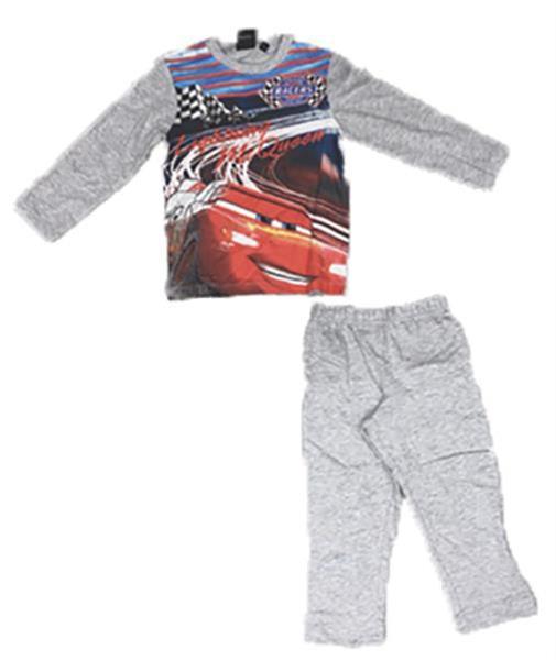 Grote foto cars pyjamaset rood grijs blauw kinderen en baby overige