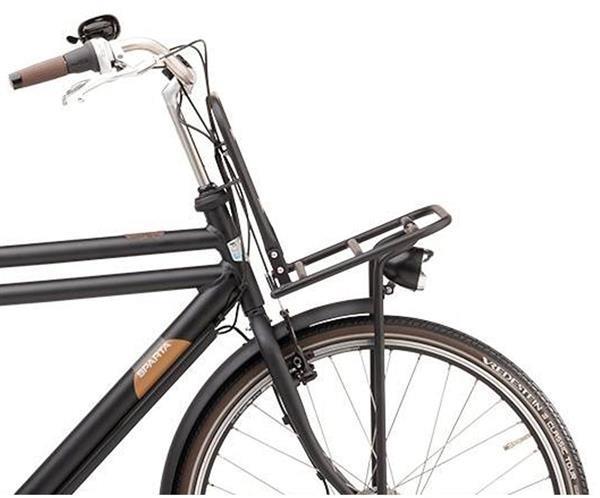Grote foto sparta pick up limited smart herenfiets f3e mat zwart fietsen en brommers elektrische fietsen