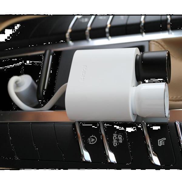 Grote foto original xiaomi roidmi 2 in 1 120w 10a car cigarette lighter telecommunicatie opladers en autoladers