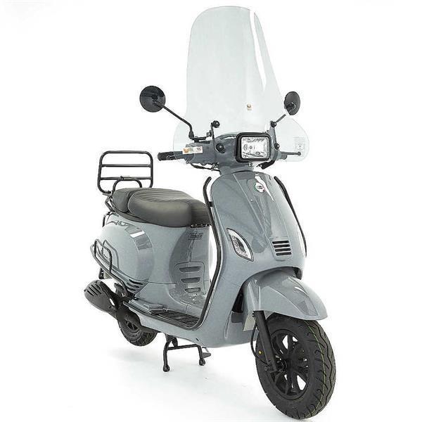 Grote foto dts milano s limited e5 nardo grijs bij central scooters fietsen en brommers scooters