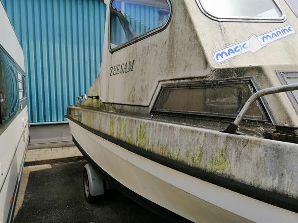 Grote foto zeegaande visboot watersport en boten vis en consoleboten
