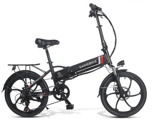 Grote foto vxd350 folding electric bike 350w 10.4ah fietsen en brommers snorfietsen en snorscooters