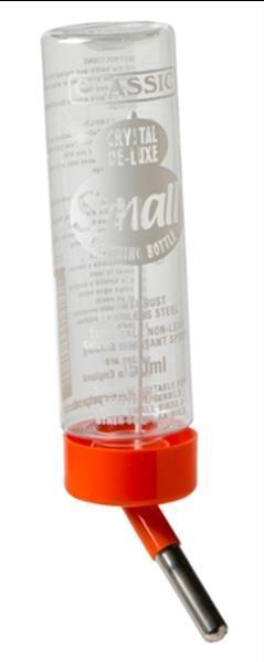 Grote foto classic drinkfles plastic hamster 150 ml dieren en toebehoren knaagdier accessoires