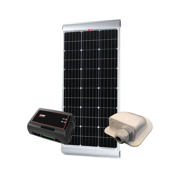 Grote foto nds solenergy 85w zonnepaneel set sc320m kp85scm.2 caravans en kamperen overige caravans en kamperen