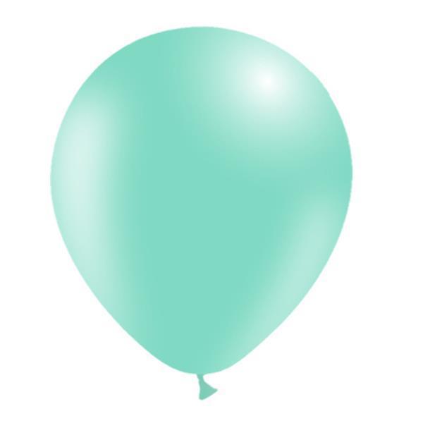 Grote foto lichtgroene ballonnen 30cm 50st verzamelen overige verzamelingen