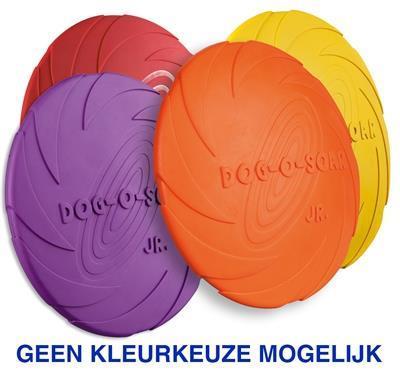 Grote foto rubber frisbee dog 0 soar assorti 18 cm kinderen en baby overige