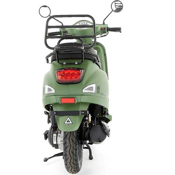 Grote foto dts milano mat groen bij central scooters kopen 1248 00 o fietsen en brommers scooters