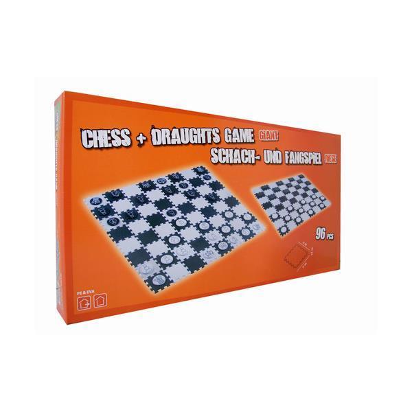 Grote foto groot schaak en damspel alleen deze week 10 extra korting kinderen en baby overige