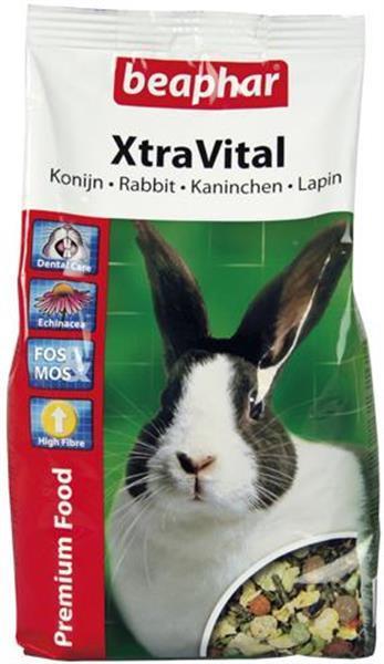 Grote foto xtravital konijn 2 5 kg 1 kg dieren en toebehoren knaagdier accessoires