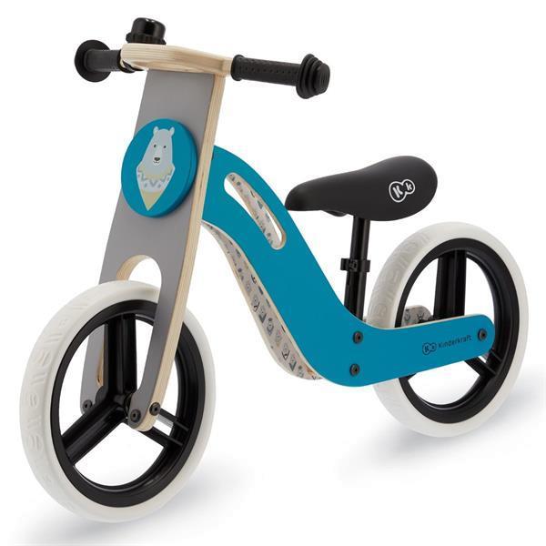 Grote foto kinderkraft uniq loopfiets balance bike turquoise kinderen en baby complete kinderkamers