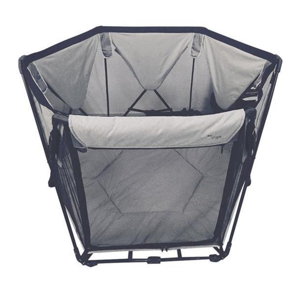 Grote foto opvouwbaar campingbed bo jungle b foldable playard grijs kinderen en baby overige