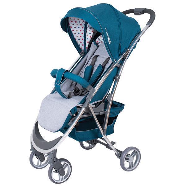 Grote foto wandelwagen freeon lux grijs blauw kinderen en baby kinderwagens