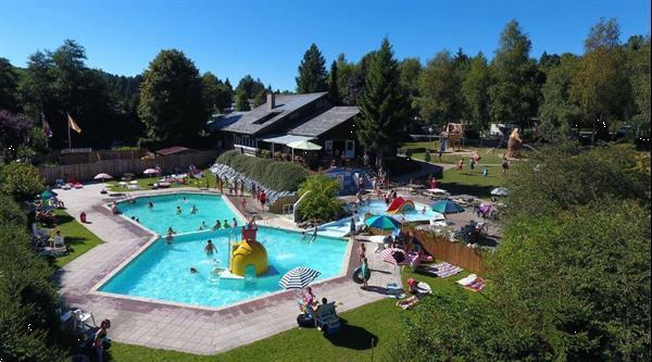 Grote foto mooie 6 persoons caravan op park met zwembad vakantie belgi